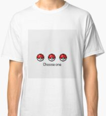 Pokeball Desing Choose One Classic T-Shirt