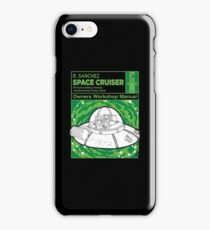 Space Cruiser Workshop Manual iPhone Case/Skin