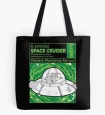 Space Cruiser Workshop Manual Tote Bag