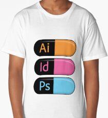 Adobe Pills Long T-Shirt