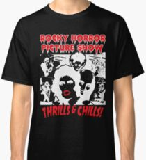 Rocky Horror Picture Show Cartoon Red Lips Classic T-Shirt