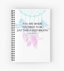 Lana Parrilla Spiral Notebook