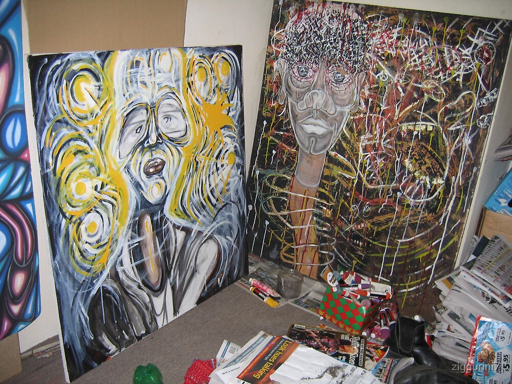studio shot by ziggurini7