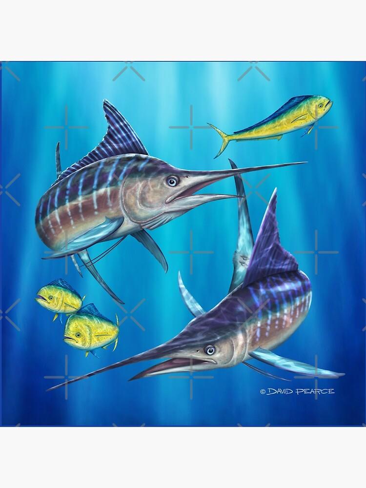 Doppelter Ärger - gestreifter Marlin von barradingo