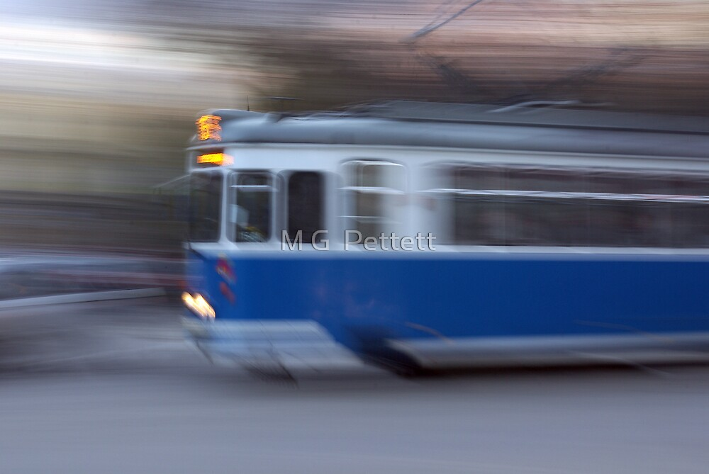 Colours of Cracow - blue by M G  Pettett