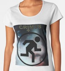 CRIM3S Witch House classic shirt  Women's Premium T-Shirt