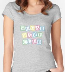 Sugar Baby Club Women's Fitted Scoop T-Shirt