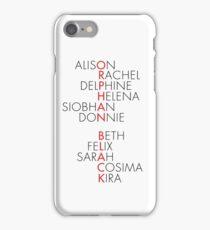 Orphan Black Typography iPhone Case/Skin