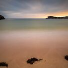 Oldshoremore Bay at Sunset by derekbeattie