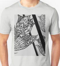 Hena Flower Pattern  Unisex T-Shirt