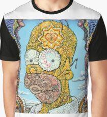 Homer Simpon Graphic T-Shirt