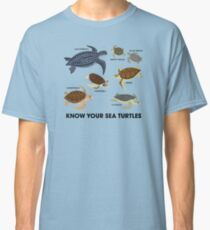 Know Your Sea Turtles Classic T-Shirt