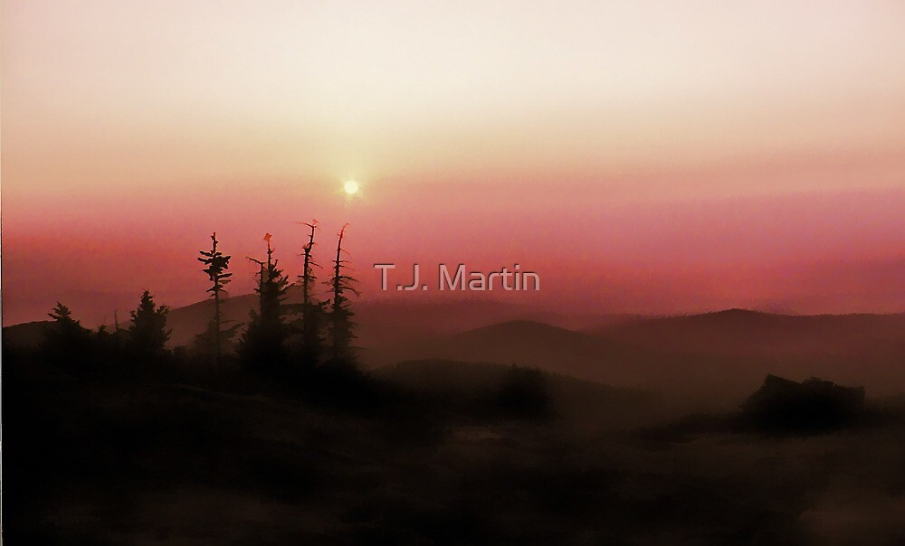 Sunrise - Mt. Kearsarge, N.H. by T.J. Martin