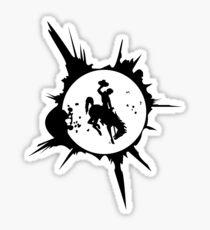 Wyoming Solar Eclipse Graphic Sticker