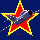 Red Star Mig-15UTI VH-EXI Design by muz2142