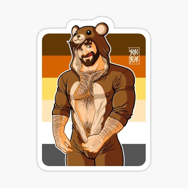 ADAM LIKES TEDDY BEARS - BEAR PRIDE Sticker