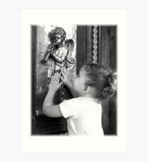 Discovering Angels Art Print