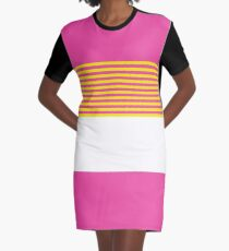 Sunset Fade Graphic T-Shirt Dress