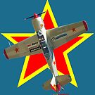 Red Star - Yakovlev Yak-52TW VH-YKK Design by muz2142