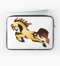 Golden Charger Laptop Sleeve
