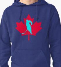 Ice Hockey Pullover Hoodie