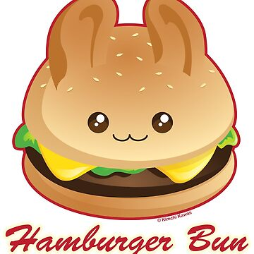 Punny Buns: Cute Hamburger Bunny by kimchikawaii