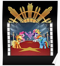 my little pony goes hollywood Poster