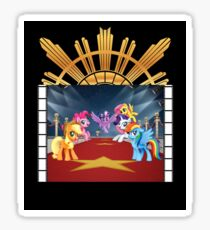 my little pony goes hollywood Sticker