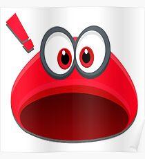 Super Mario Odyssey (Cappy!) Design Poster