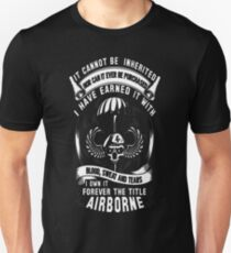 airborne 101st airborne 82nd airborne paratroope T-Shirt  T-Shirt