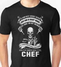 Chef pastry chef design chef humor pampered chef T-Shirt  Unisex T-Shirt