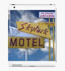Skylark Motel Vintage Sign iPad Case/Skin