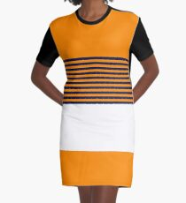 Tiger Stripes Graphic T-Shirt Dress