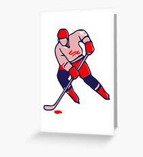 Canada Ice hockey Greeting Card