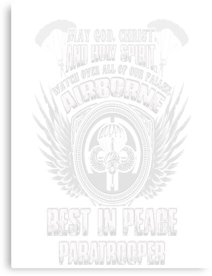 airborne 101st airborne 82nd airborne airborne a t shirt canvas 101st Airborne Normandy airborne 101st airborne 82nd airborne airborne a t shirt by danamoffitsgck