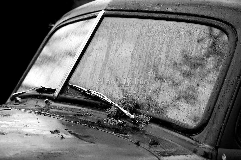 Red's Windshield by Alan LeClair