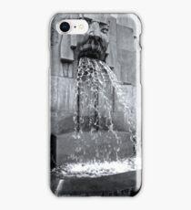 Milan Train Station Fountain iPhone Case/Skin