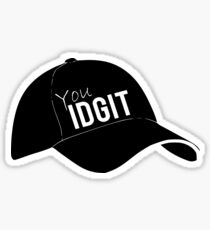 'You Idgits' Bobby Singer. Sticker