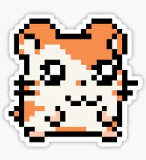 Pixel Hamster Sticker