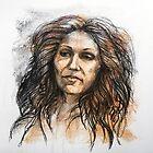 Portrait of Jenny by Roz McQuillan