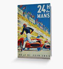 24hs Le Mans, 1959 Greeting Card