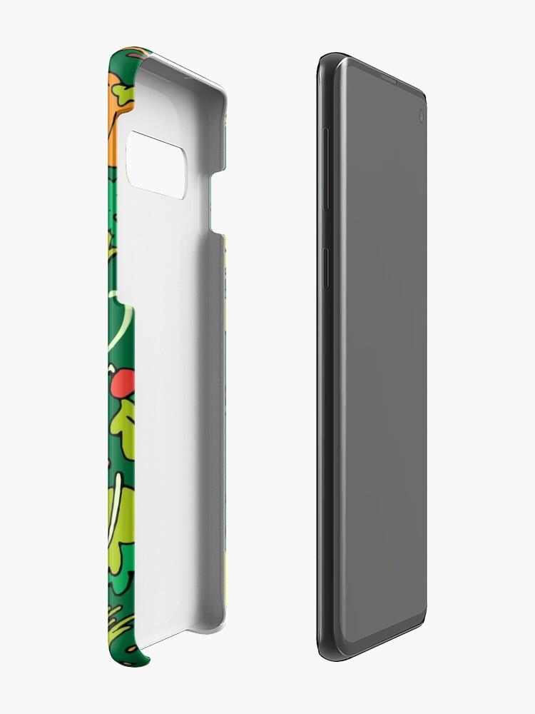 Alternative Ansicht von Iss dein Gemüse Hülle & Klebefolie für Samsung Galaxy