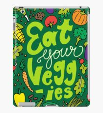 Eat Your Veggies iPad Case/Skin
