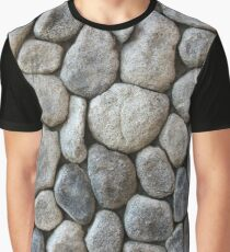 Texture Art - 6 (Stone Collage) Graphic T-Shirt