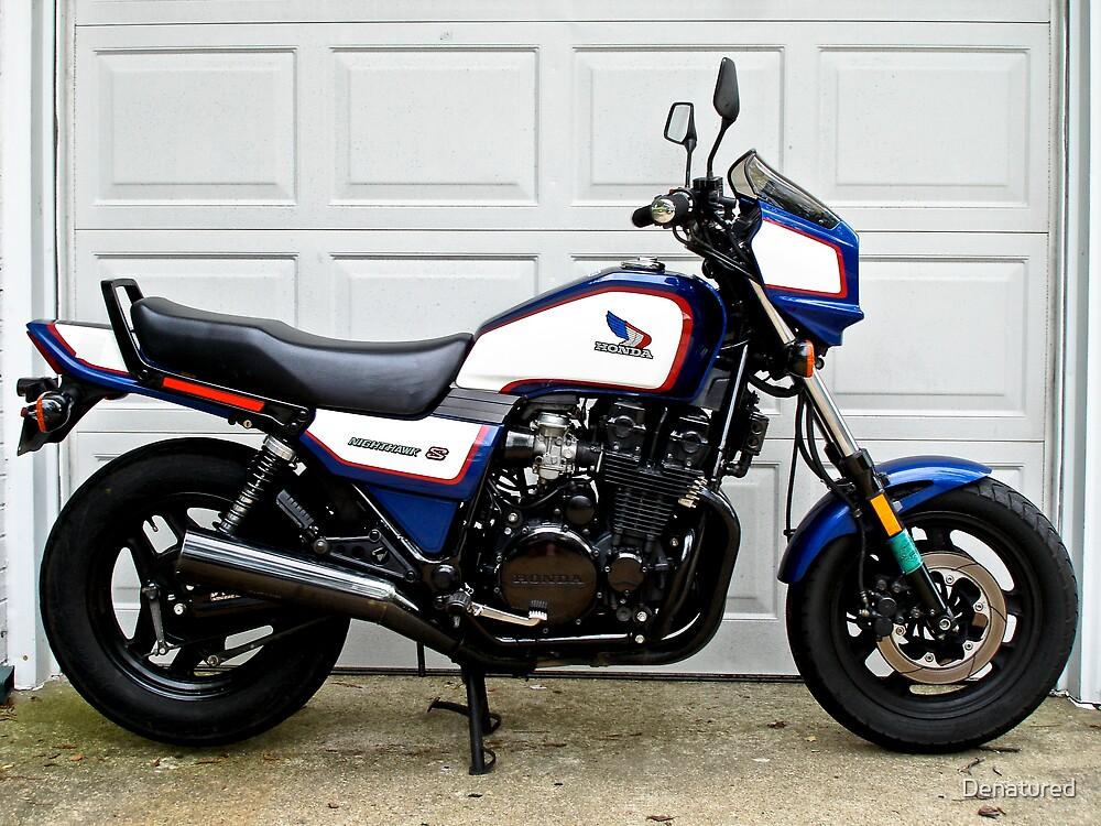 1986 Honda Nighthawk CB700SC by Denatured