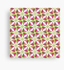 Tessellation Abstractica Mosaic 24 Canvas Print