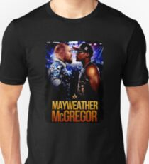 connor mcgregor vs mayweather T-Shirt