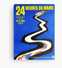 24hs Le Mans, 1972 Canvas Print