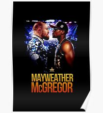 connor mcgregor vs mayweather Poster