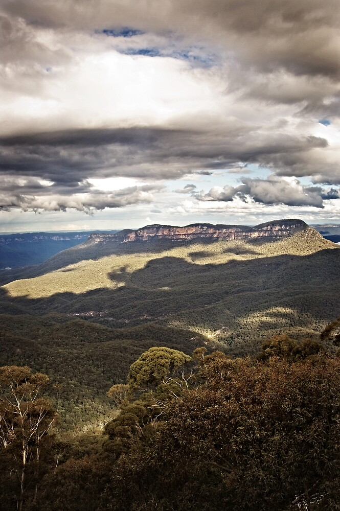 Blue Mountains  by Nathan T